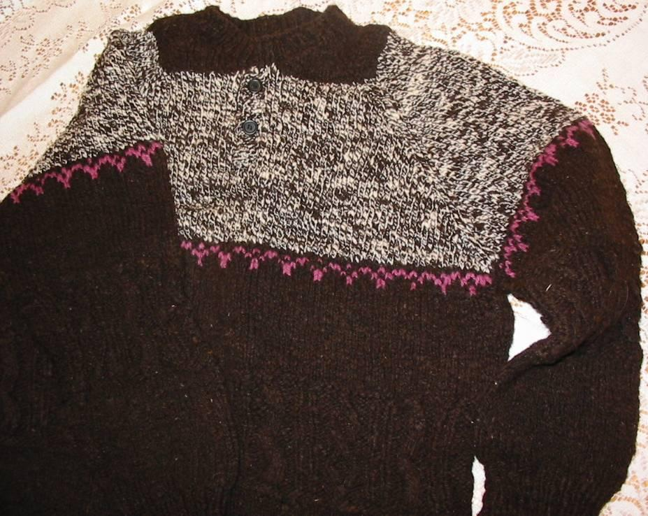 Raglan Sweater Knit from the Top Down | SpinCraft Knitting ...